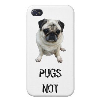PUGS NOT DRUGS IPHONE CASE CASES FOR iPhone 4