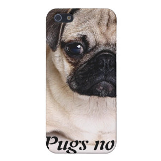 Pugs not Drugs iPhone Case Case For iPhone 5/5S