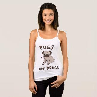 Pugs Not Drugs Tank Top