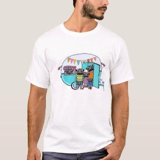 Pugs Vintage Trailer T-Shirt