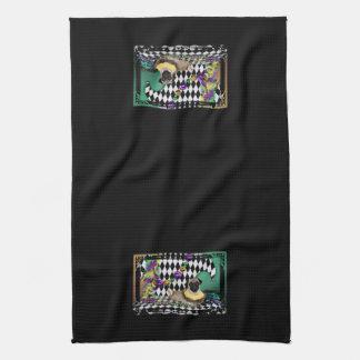 Pugsgiving Mardi Gras 2015 - Rooby - Pug Hand Towel