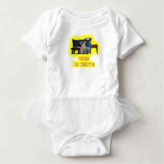 Pugsley The Director Baby Bodysuit