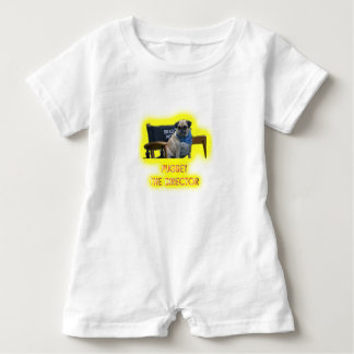 Pugsley The Director Baby Romper