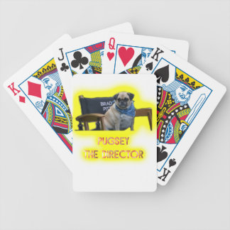 Pugsley The Director Bicycle Playing Cards