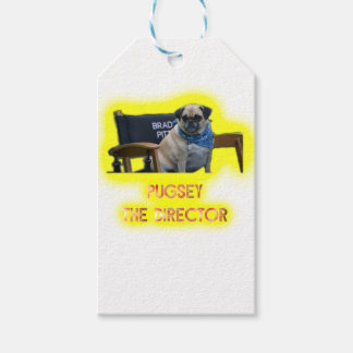 Pugsley The Director Gift Tags