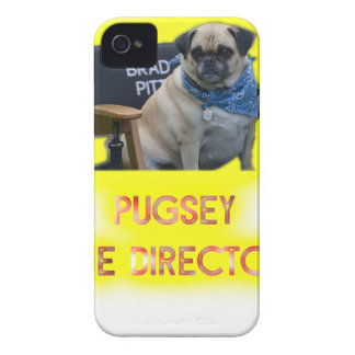 Pugsley The Director iPhone 4 Cases