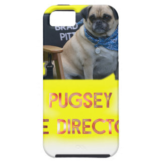 Pugsley The Director iPhone 5 Case