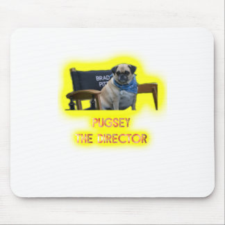 Pugsley The Director Mouse Pad