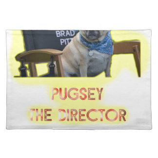 Pugsley The Director Placemat