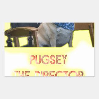 Pugsley The Director Sticker