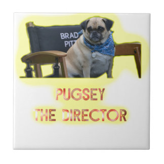 Pugsley The Director Tile