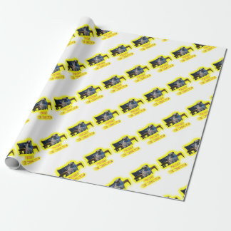 Pugsley The Director Wrapping Paper