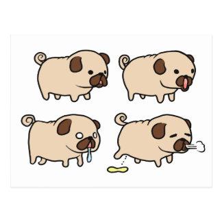 PugsPugs! Postcard