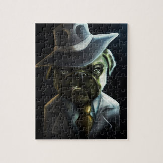 Pugster Boss Jigsaw Puzzle
