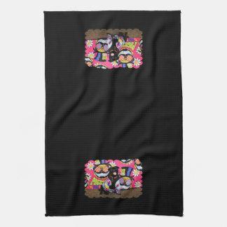 Pugstock 2015 - Louie - Pug Hand Towel