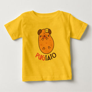 Pugtato (pug potato) baby T-Shirt