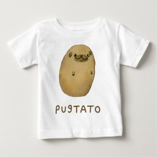 Pugtato Pug Potato Baby T-Shirt