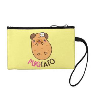 Pugtato Pug Potato Coin Purse