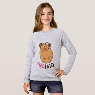 Pugtato (pug potato) sweatshirt