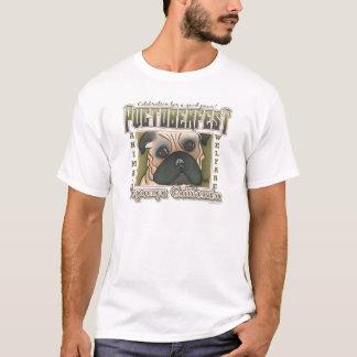 Pugtoberfest by Robyn Feeley T-Shirt