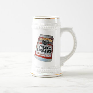 Pugweizer  Light Beer Beer Stein