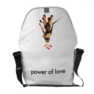 puissance de l'amour sacoche