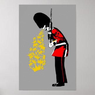 Puke Royal Guard Poster