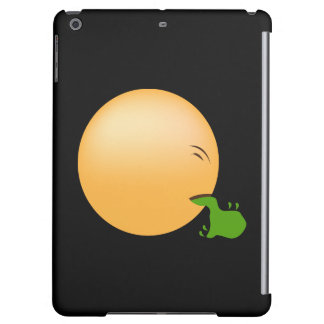 Puking Emoji iPad Air Covers