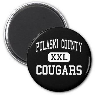 Pulaski County - Cougars - High - Dublin Virginia Magnet