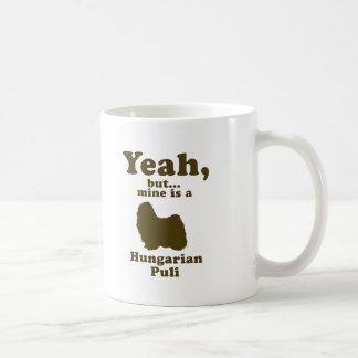 Puli Classic White Coffee Mug