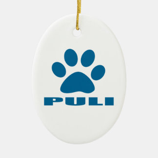 PULI DOG DESIGNS CERAMIC ORNAMENT