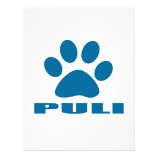 PULI DOG DESIGNS LETTERHEAD