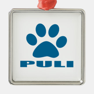 PULI DOG DESIGNS METAL ORNAMENT