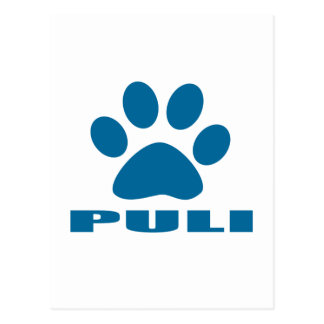 PULI DOG DESIGNS POSTCARD