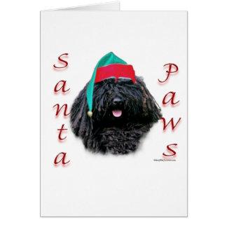Puli Santa Paws Card