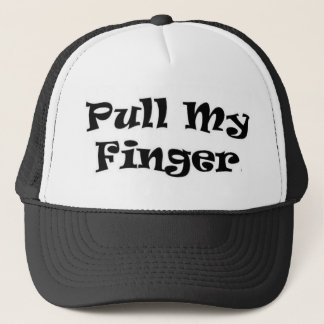 Pull My Finger Trucker Hat
