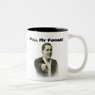 Pull! Two-Tone Coffee Mug