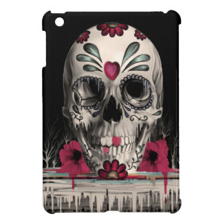 Pulled sugar, melting sugar skull iPad mini cases
