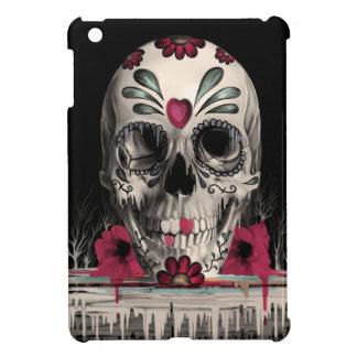 Pulled sugar, melting sugar skull iPad mini cover