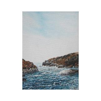 Pulleen Bay, Ireland : Oil , Canvas Print