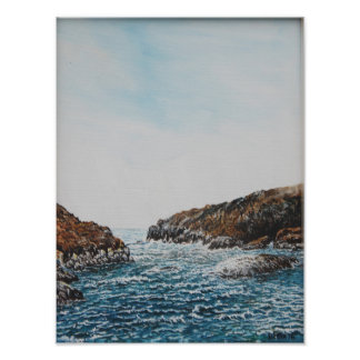 Pulleen Bay, Ireland : Oil , Photo Print