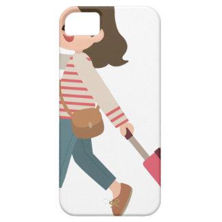 Pulling Luggage iPhone 5 Case