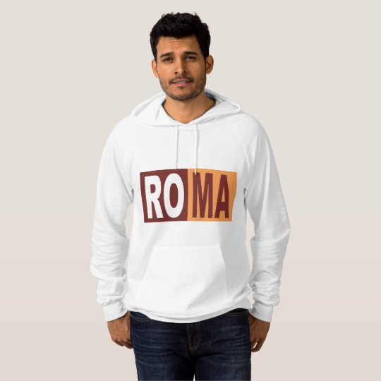 Pullover with hood ROMA ITALIA