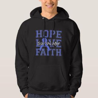 Pulmonary Hypertension Hope Love Faith Survivor Sweatshirt