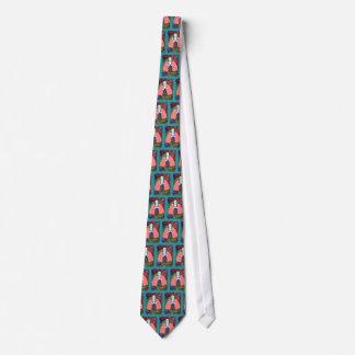 Pulmonologist Necktie--Artsy Lungs Design Tie