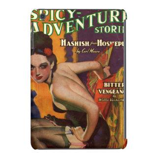 Pulp magazine spicy adventure stories femme fatale iPad mini retina case