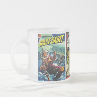 Pulp Sci-Fi Frosted Mug