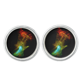 Pulsar B1509 - Hand of God X-Ray Nebula NASA Photo Cufflinks