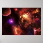 Pulsar Nebula Poster