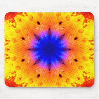 Pulsar Star Mandala Mouse Pad